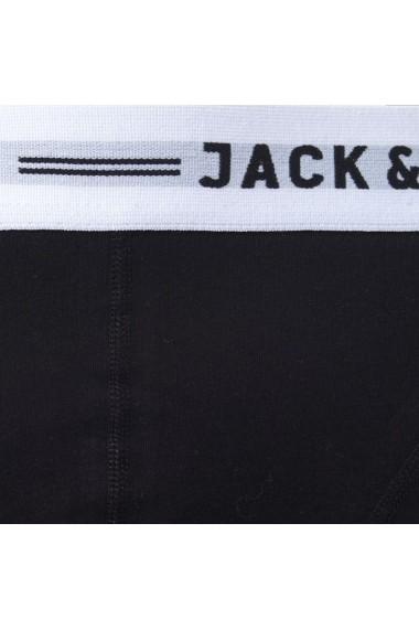 Set 3 boxeri JACK & JONES 1416570 Negru, negru, negru