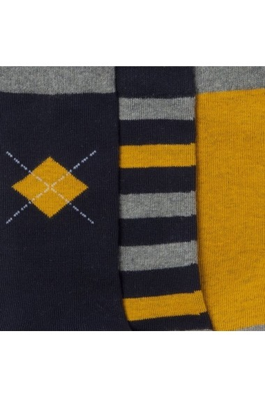 Set 3 perechi sosete ABCD`R 7220596 Multicolor - els