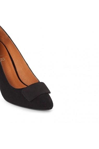 Pantofi cu toc ATELIER R 8703582 Negru
