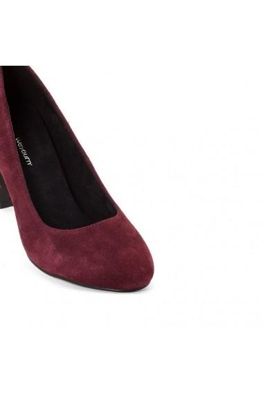 Pantofi cu toc ANNE WEYBURN 8831491 Bordo