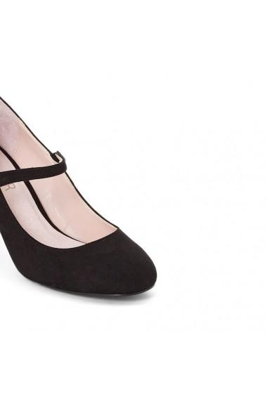 Pantofi cu toc MADEMOISELLE R 8839662 Negru - els