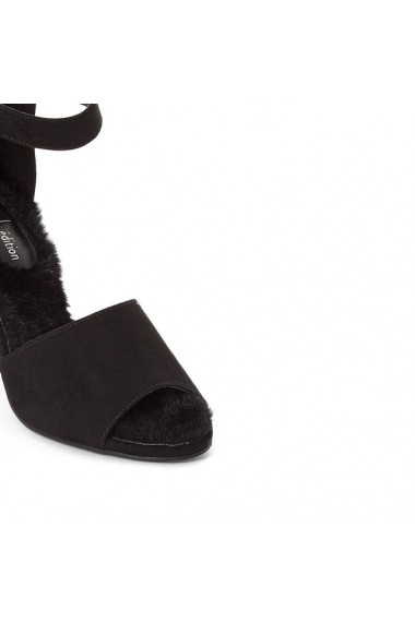 Sandale cu toc R edition 8846472 Negru