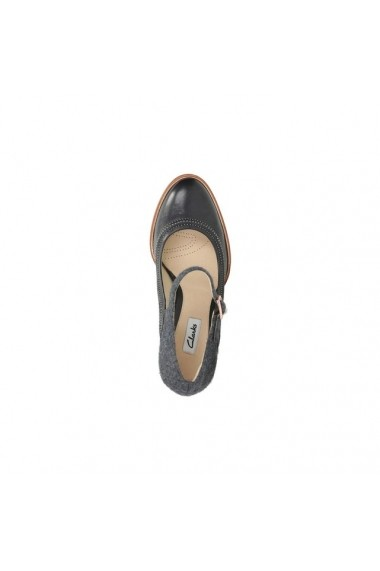 Pantofi cu toc CLARKS 9523502 Negru