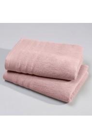Set 2 prosoape La Redoute Interieurs BDN087 roz