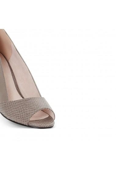 Pantofi cu toc ANNE WEYBURN GAI236 gri - els