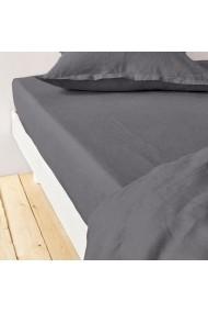 Cearsaf Lin lave La Redoute Interieurs GBJ662 160x200 cm gri