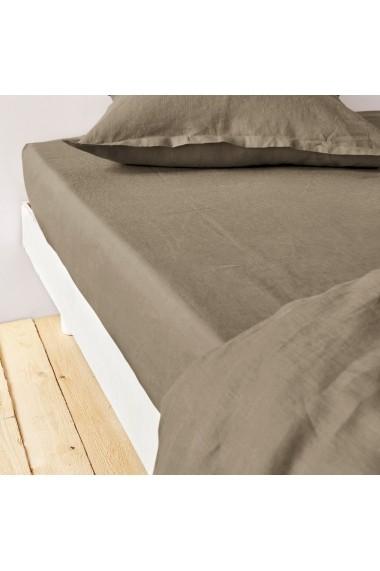 Cearsaf Lin lave La Redoute Interieurs GBJ662 90x190 cm multicolor