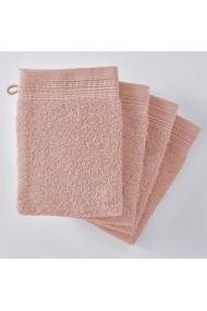 Set 4 manusi de baie SCENARIO GBN339 roz