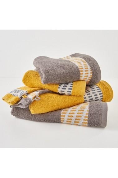 Set 6 textile de baie La Redoute Interieurs GBV045 gri - els