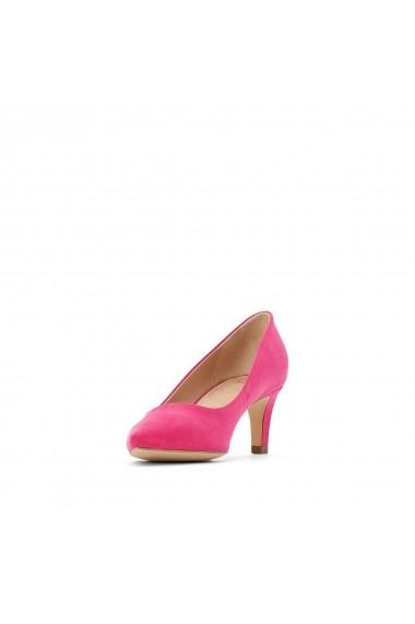 Pantofi cu toc La Redoute Collections GBX520 fucsia
