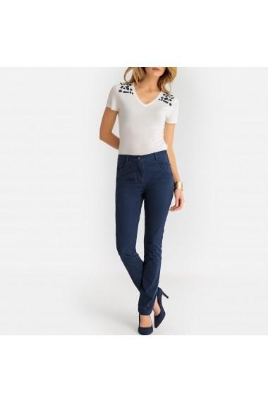 Pantaloni drepti ANNE WEYBURN GBX837 bleumarin