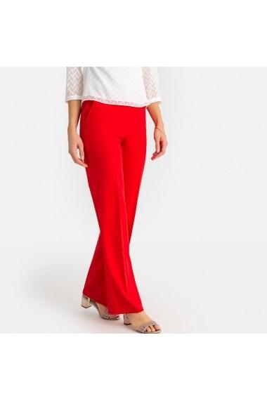 Pantaloni drepti ANNE WEYBURN GBX878 rosu