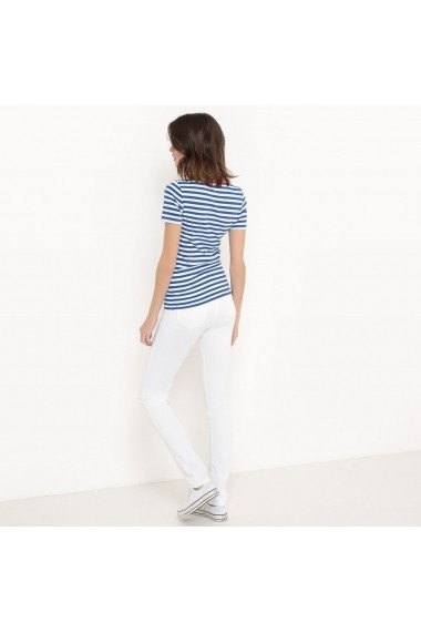 Tricou La Redoute Collections GBY354 bleumarin - els