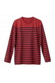 Bluza La Redoute Collections GBZ506 bleumarin - els