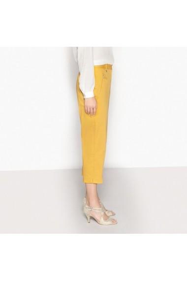 Pantaloni ANNE WEYBURN GBZ510 ocru - els