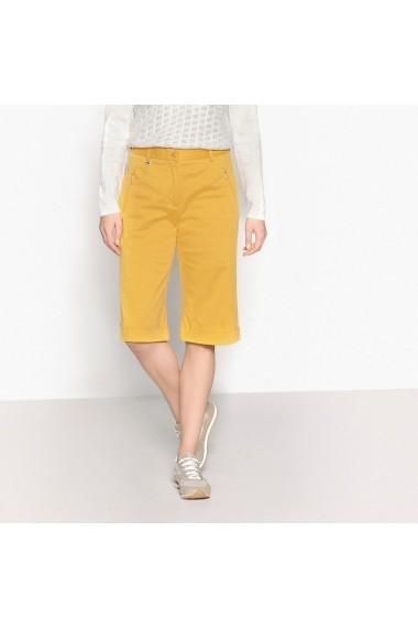 Pantaloni scurti ANNE WEYBURN GBZ517 ocru - els