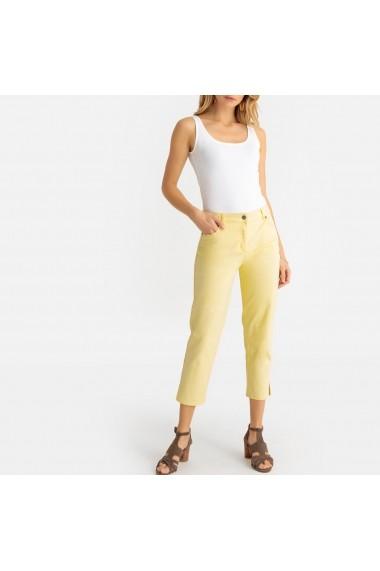 Pantaloni trei sferturi ANNE WEYBURN GBZ564 galben