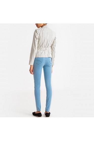 Jeansi skinny La Redoute Collections GCA634 albastru