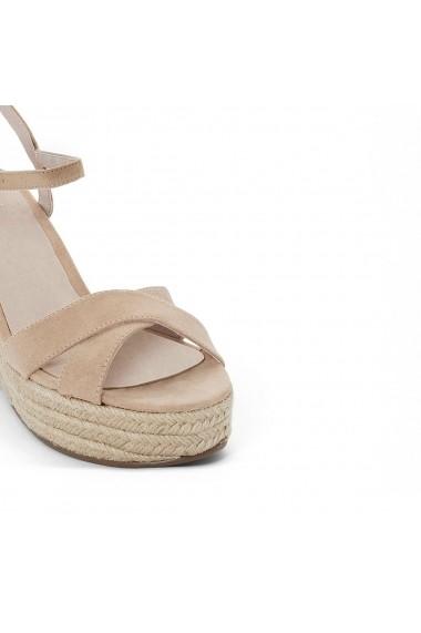 Sandale La Redoute Collections GCA674 crem