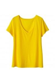 Тениска La Redoute Collections LRD-GCC104_galben Жълт