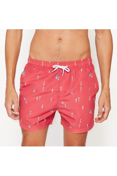 Short de plaja La Redoute Collections GCI357 corai
