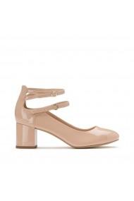 Pantofi cu toc La Redoute Collections GCO139 nude