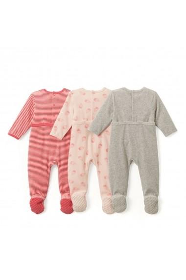 Set 3 perechi pijamale La Redoute Collections GCS805 multicolor