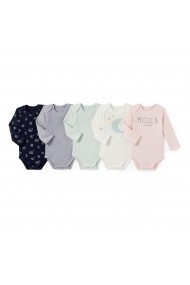 Set 5 bodyuri La Redoute Collections GCS877 multicolor
