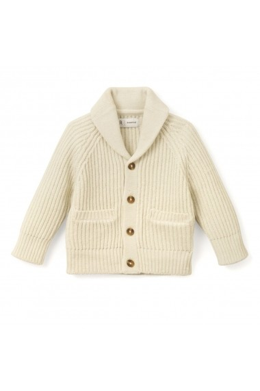 Cardigan La Redoute Collections GDA718 ecru