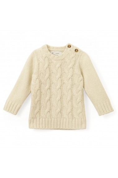 Pulover La Redoute Collections GDA892 bej