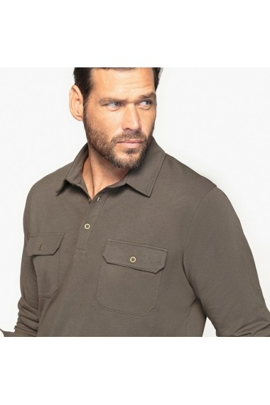 Bluza polo CASTALUNA FOR MEN GDB130 kaki