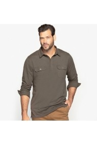 Bluza polo CASTALUNA FOR MEN GDB130 kaki
