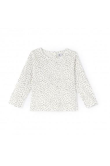 Set jacheta, bluza si pantaloni La Redoute Collections GDB486 ecru