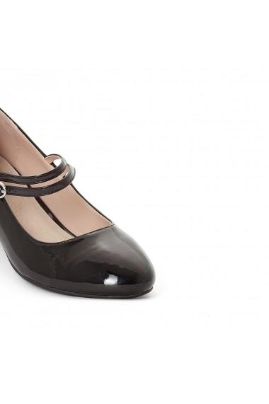 Pantofi cu toc CASTALUNA GDC867 Bordo- els