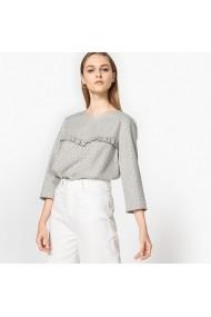 Блуза La Redoute Collections LRD-GDE135_els Сив