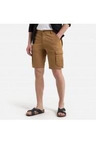 Pantaloni scurti La Redoute Collections GDE165 maro - els