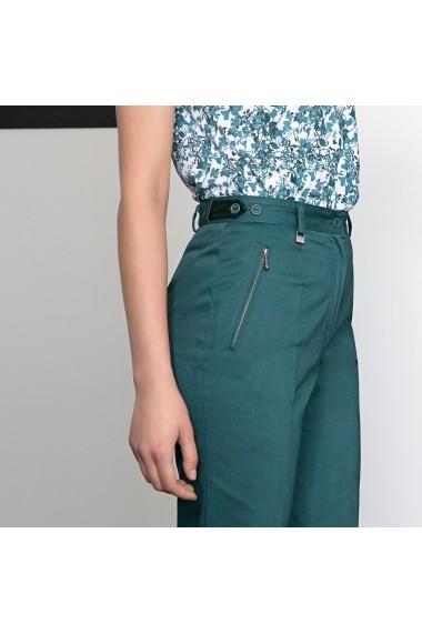 Pantaloni drepti ANNE WEYBURN GDE519 verde