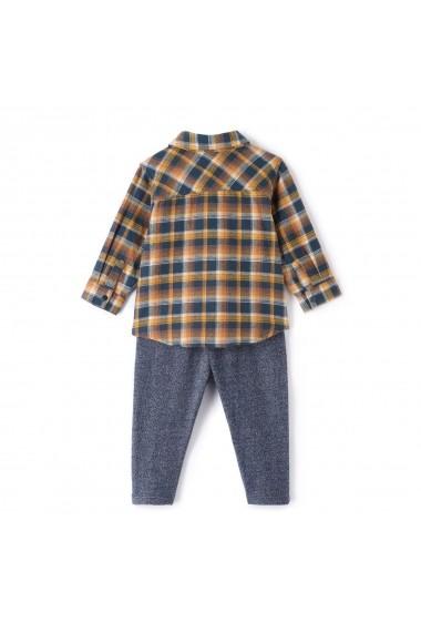 Set camasa, bluza si pantaloni La Redoute Collections GDE759 multicolor - els