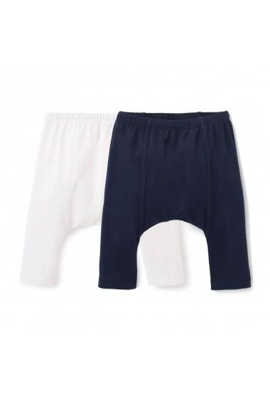 Set 2 perechi pantaloni La Redoute Collections GDE945 bleumarin