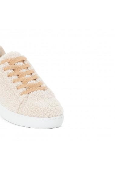 Pantofi sport La Redoute Collections GDF268 bej