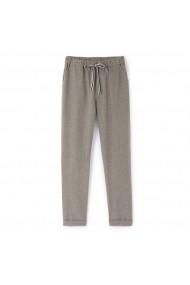 Pantaloni La Redoute Collections GDF820 gri - els