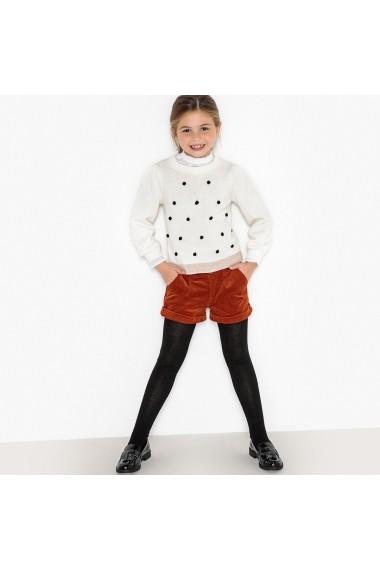 Pantaloni scurti La Redoute Collections GDG530 maro