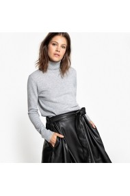 Pulover din casmir La Redoute Collections GDH144 gri