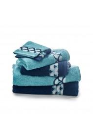 Set 6 textile baie La Redoute Interieurs GDI052 albastru