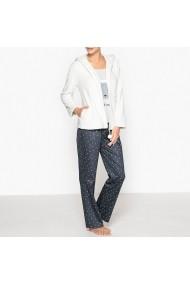 Pijama La Redoute Collections GDI192 alb
