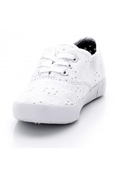 Pantofi sport La Redoute Collections GDI560 alb - els
