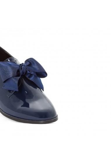 Pantofi Derby MADEMOISELLE R GDJ709 bleumarin - els