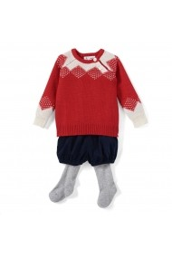 Set pulover, pantaloni si dresuri La Redoute Collections GDM724 multicolor - els