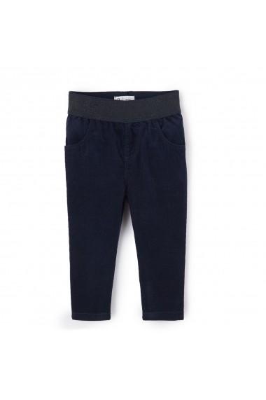 Pantaloni La Redoute Collections GDM735 bleumarin - els