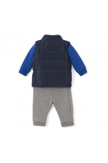 Set vesta, bluza si pantaloni La Redoute Collections GDM757 gri